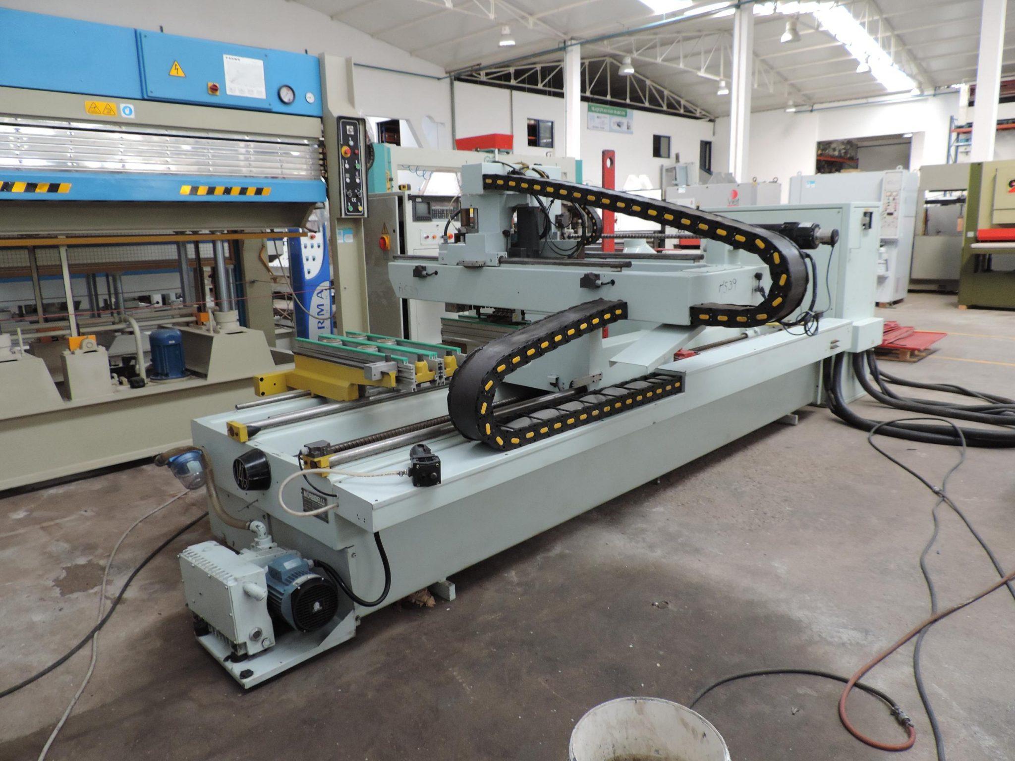 Woodwork machine center Morbidelli U26 – Máquinas São Marcos